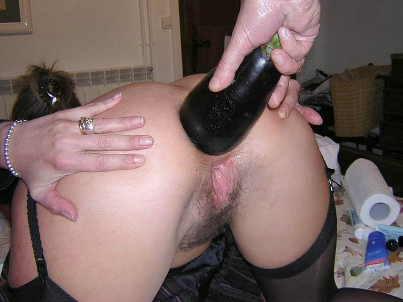 Asian Cougar takes BBC in her butt